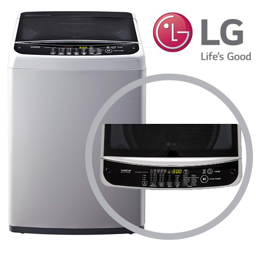 LG Fully Automatic Top Loading Washing Machine 6.5 kg (T7581NDDLG, Middle Free Silver, Smart Inverter)