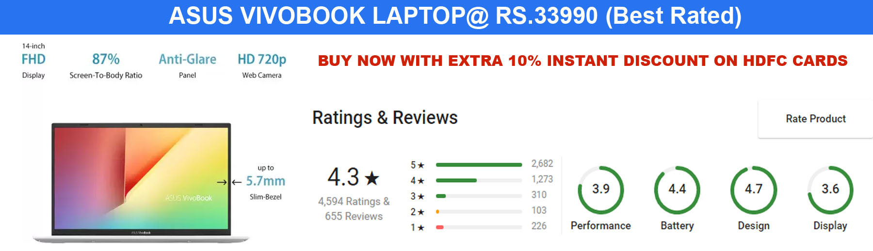 Best Best Rated Laptop at Best Price Online